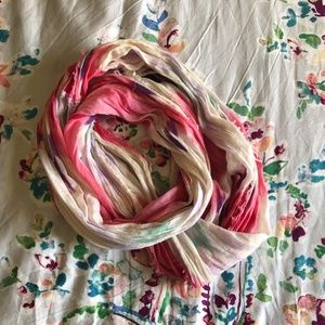 AE Watercolored/Multicolored Infinity Scarf